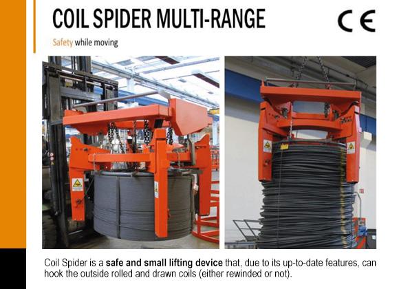 coil spider multi range